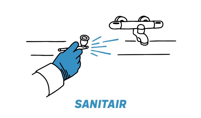 Sanitair reparaties door Novanet
